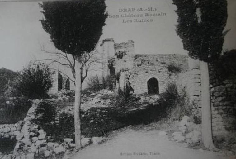 Le château de Drap